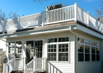 Paramus NJ Home Addition with Deck